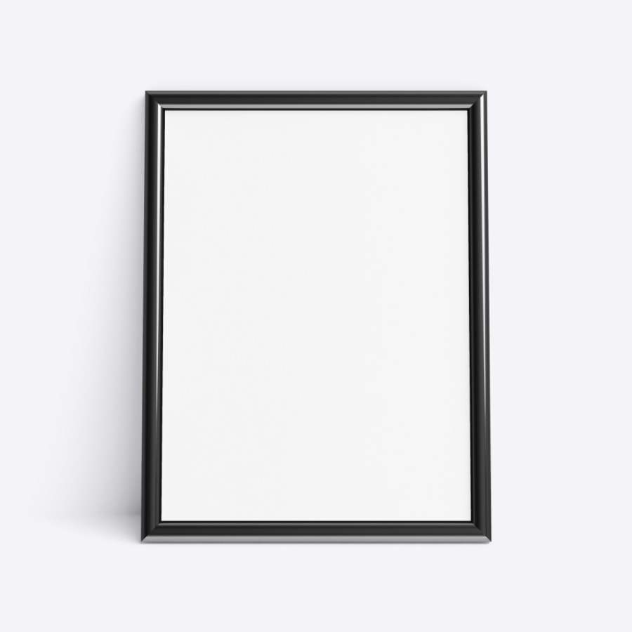 Picture frame Mockup - Photo size 6x8 in